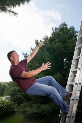 ladder-fall