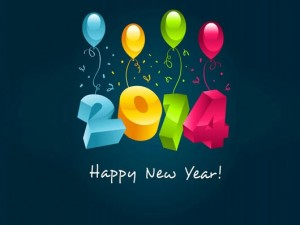 Happy New Year 2014 3D Wallpaper - 60
